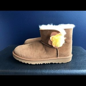 New Mini Bailey Cactus Flower UGG boots